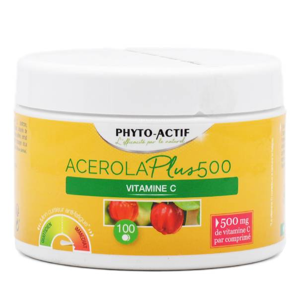 Phyto-Actif Acérola Plus 500 100 comprimés