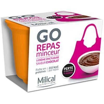 Milical Go Repas Minceur Crème Onctueuse Chocolat 1 coupelle