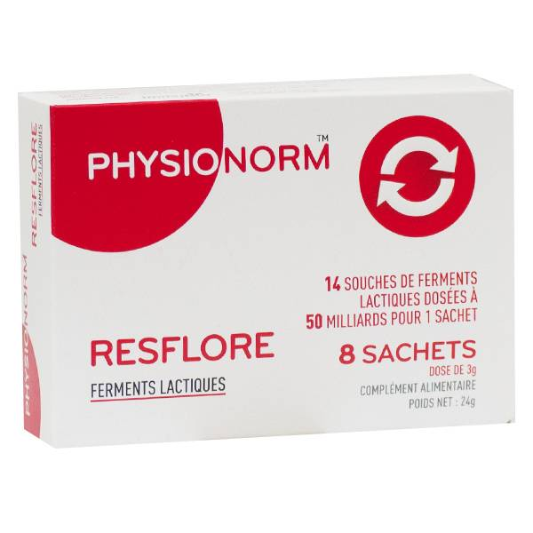 Immubio Physionorm Resflore 8 Sachets