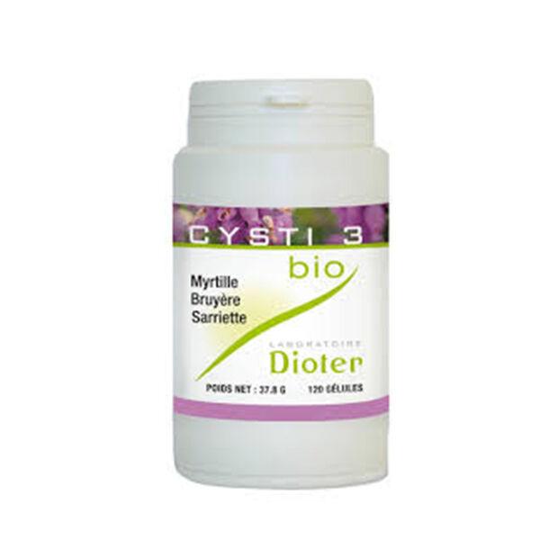 Laboratoire Dioter Dioter Cysti 3 Bio 120 gélules