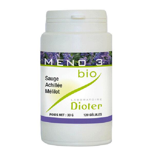 Laboratoire Dioter Dioter Meno 3 Bio 120 gélules