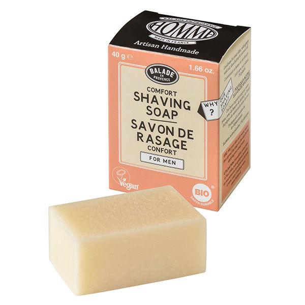 Balade en Provence Savon Rasage Homme Confort Agrumes Bio 40g