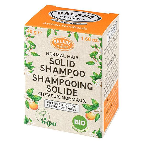 Balade en Provence Shampooing Solide Cheveux Normaux Fleur d'Oranger Bio 40g