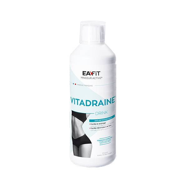 Eafit Vitadraine Drink Draineur & Anti-Rétention d'Eau 500ml