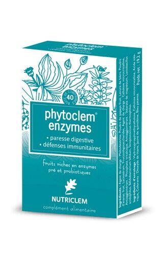 Nutriclem Phytoclem Enzymes Probiotix 40 comprimés