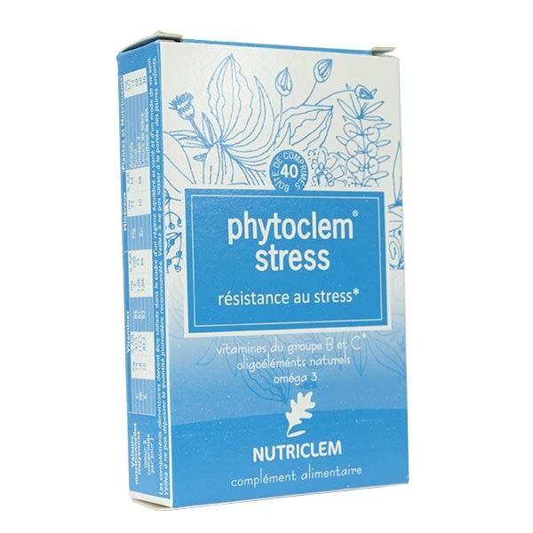 Nutriclem Phytoclem Stress Complément alimentaire 40 comprimés