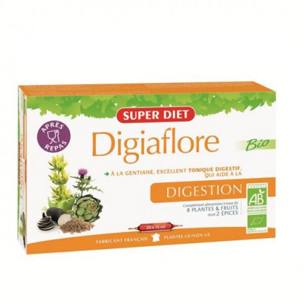 Superdiet Digiaflore Bio 20 ampoules