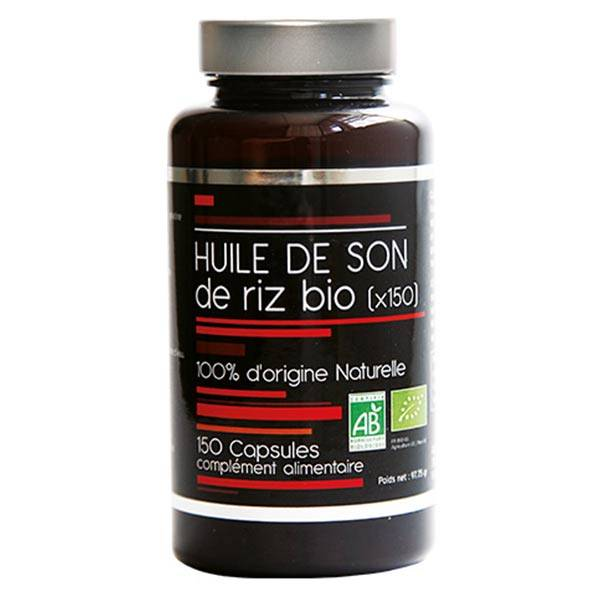Nutrivie Huile de Son de Riz 150 capsules