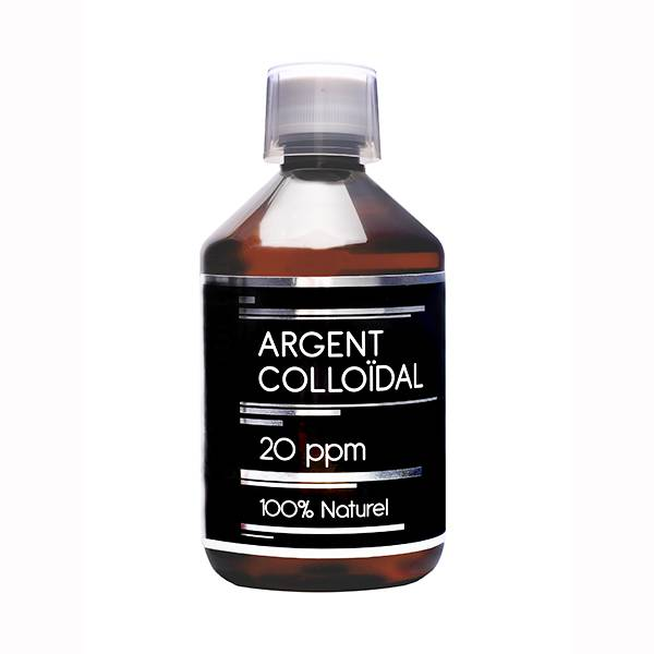 Nutrivie Argent Colloïdal 20 ppm 500ml