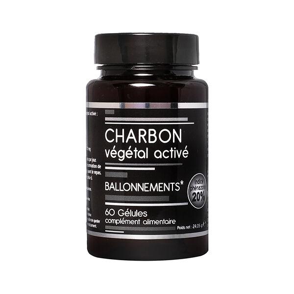 Nutrivie Charbon Végétal Activé Vegan 60 gélules