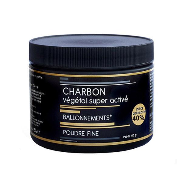Nutrivie Charbon Végétal Super Activé Végan Poudre Fine 150g