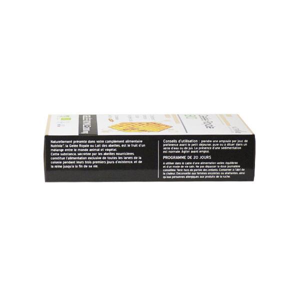 Nutrivie Gelée Royale Bio 2000mg 20 ampoules