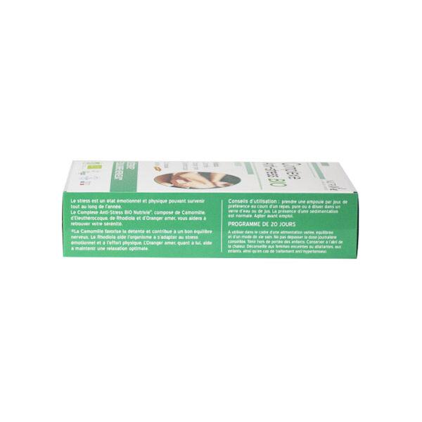 Nutrivie Complexe Anti Stress Bio 20 ampoules