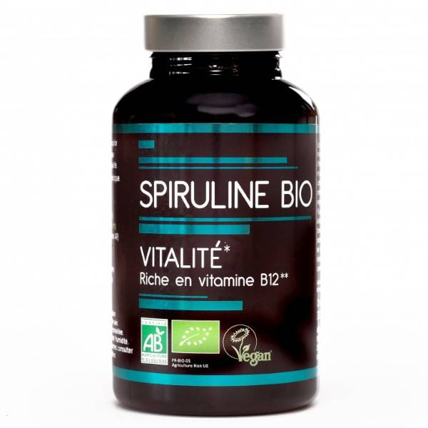 Nutrivie Spiruline Bio Vitalité 200 comprimés
