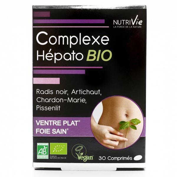 Nutrivie Complexe Hépato Bio 30 comprimés