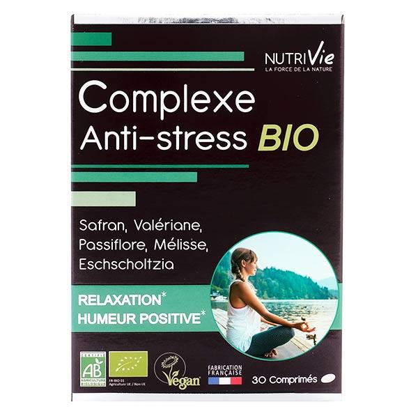 Nutrivie Complexe Anti-Stress Bio 30 comprimés