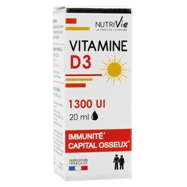 Nutrivie Vitamine D3 1300UI 20ml