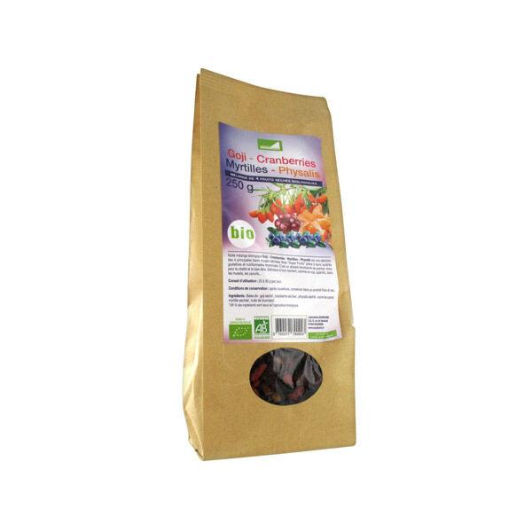 Exopharm Supra Food Mélange Goji Cranberries Myrtille Physalis Bio 250g