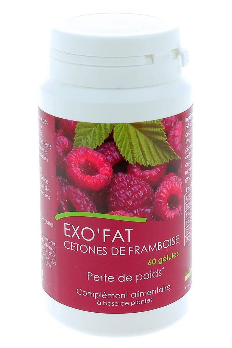 Exo'Fat Cetones de Framboise Perte de Poids 60 gélules