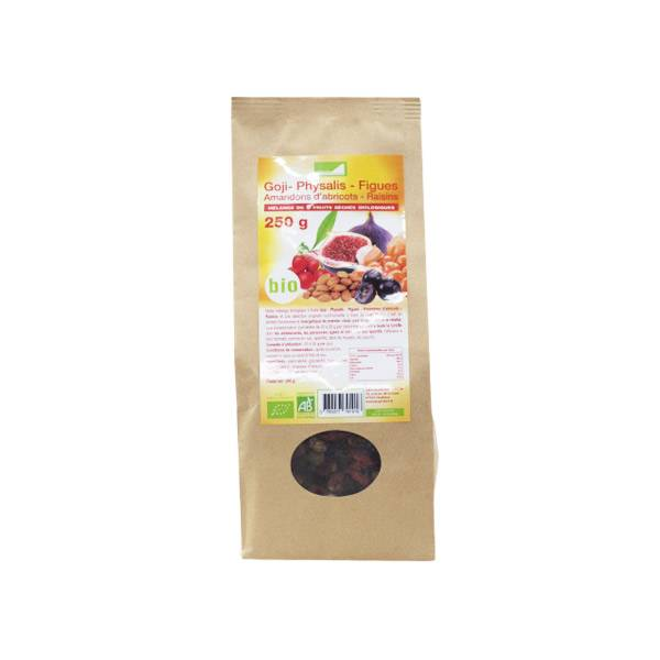 Exopharm Supra Food Mélange 5 Fruits Bio 250g
