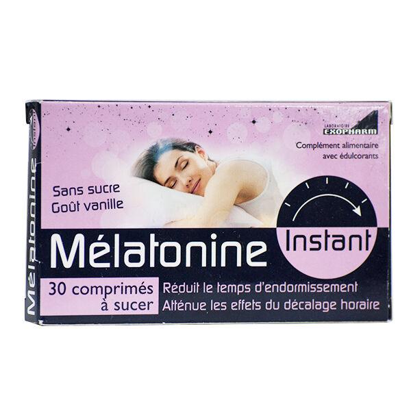 Exopharm Mélatonine Instant 30 comprimés
