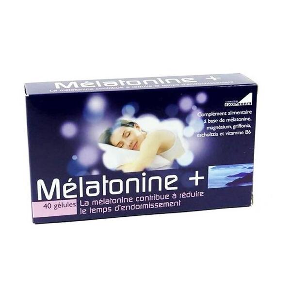 Exopharm Mélatonine + 40 gélules