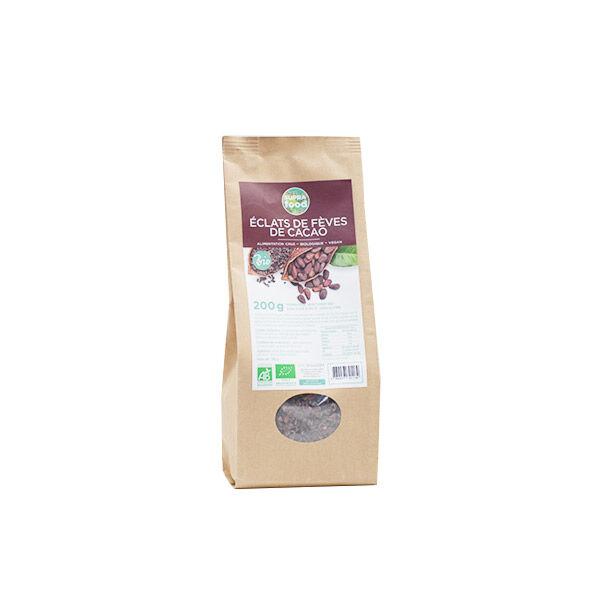 Exopharm Supra Food Éclats de Fèves de Cacao Bio 200g