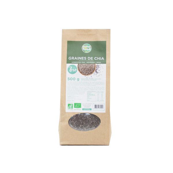 Exopharm Supra Food Graines de Chia Bio 500g