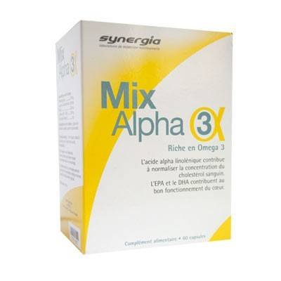 Synergia Mix Alpha 3 60 capsules