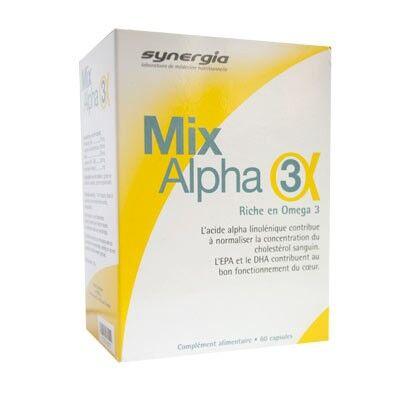 Synergia Mix Alpha 3 60 capsules