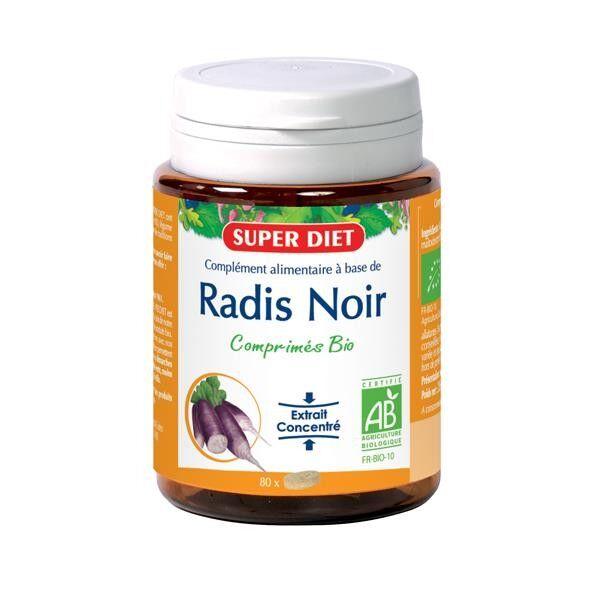 Super Diet Radis Noir Bio - 80 comprimés