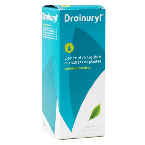 Erjean Nuthera Drainuryl Concentré Liquide aux 5 plantes 250ml