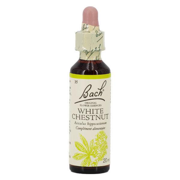 Fleurs de Bach n°35 White Chestnut - Marronnier Blanc 20ml