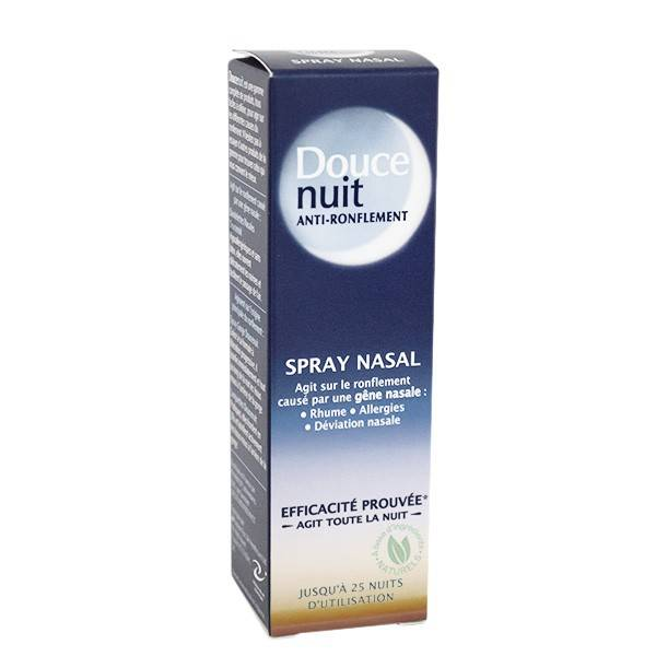 Douce Nuit Anti-Ronflement Spray Nasal 10ml