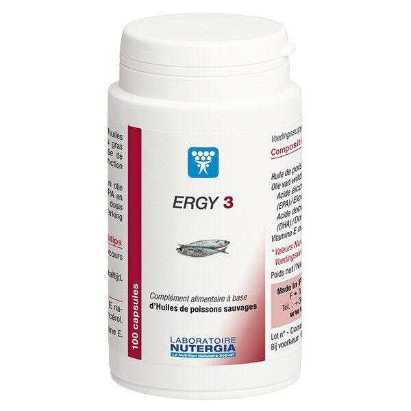 Nutergia Ergy 3 Boite de 100 capsules