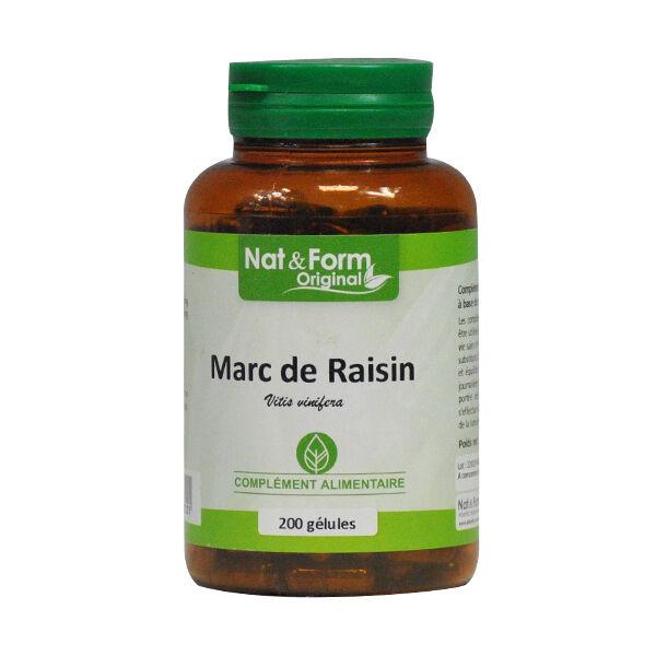 Nat & Form Original Marc de Raisin 200 gélules