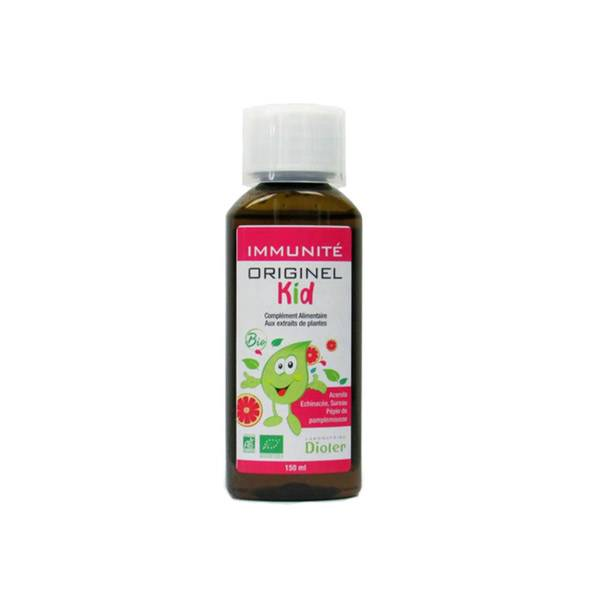 Laboratoire Dioter Dioter Originel Kid Immunité Bio 150ml