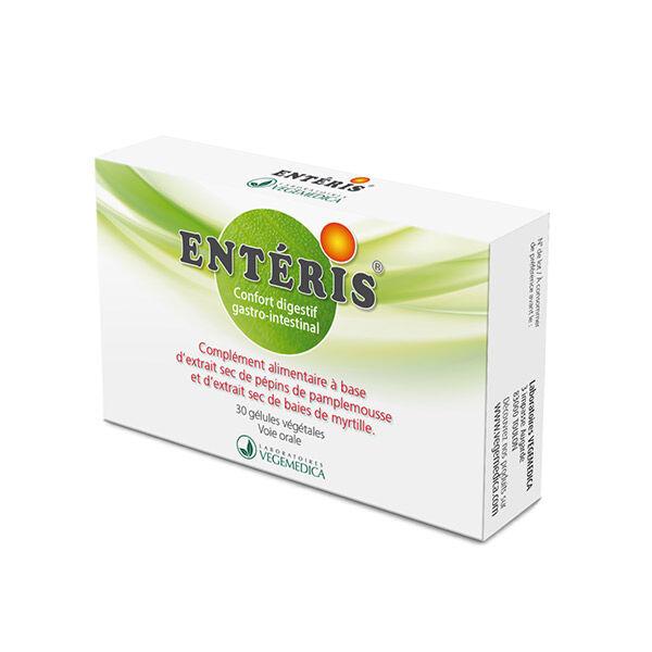 Vegemedica Entéris Confort Digestif Gastro-Intestinal 30 gélules