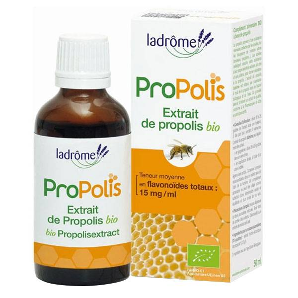 Ladrôme Propolis Extrait de Propolis Bio 50ml