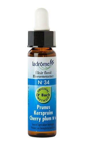 Ladrôme Elixirs Floraux N°34 Prunus Bio 10ml