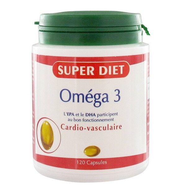 SuperDiet Super Diet Omega 3 - 120 capsules