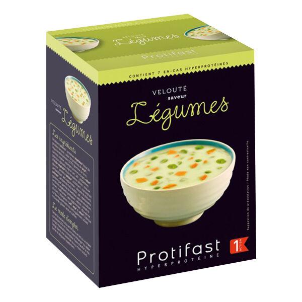 Protifast Soupe Hyperprotéinée Velouté de Légumes 7 sachets