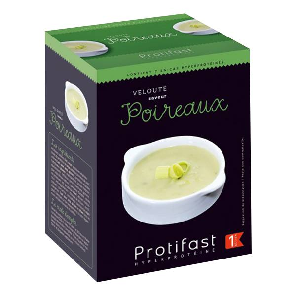 Protifast Soupe Hyperprotéinée Velouté de Poireaux 7 sachets