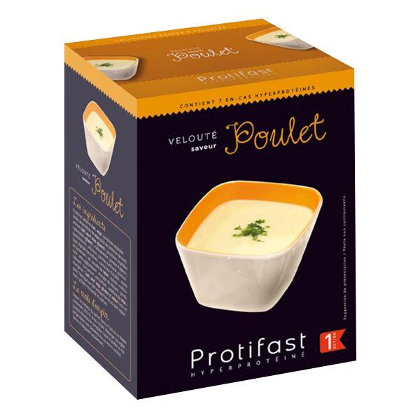 Protifast Soupe Hyperprotéinée Velouté de Poulet 7 sachets