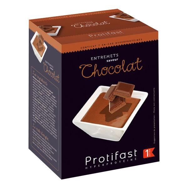 Protifast Entremet Hyperprotéiné Chocolat 7 Sachets