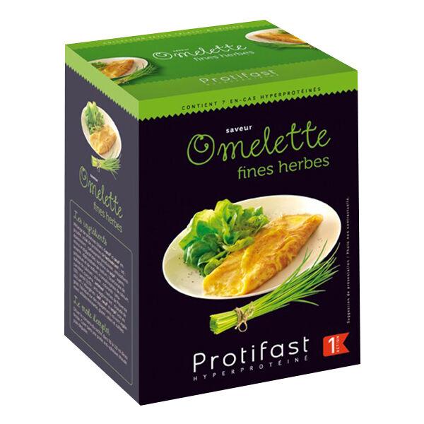 Protifast Plat à Cuisiner Omelette Fines Herbes 7 Sachets