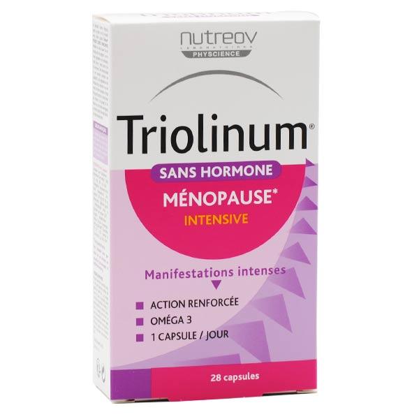 Nutreov Physcience Triolinum Ménopause Intensive Sans Hormone 28 capsules
