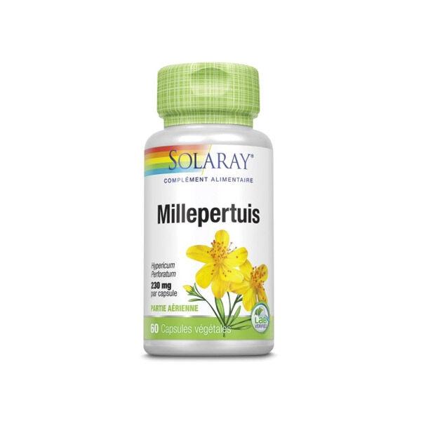 Solaray Millepertuis 230mg 60 capsules végétales