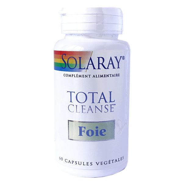 Solaray Total Cleanse Foie 60 capsules végétales