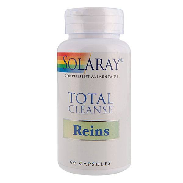 Solaray Total Cleanse Reins 60 capsules végétales